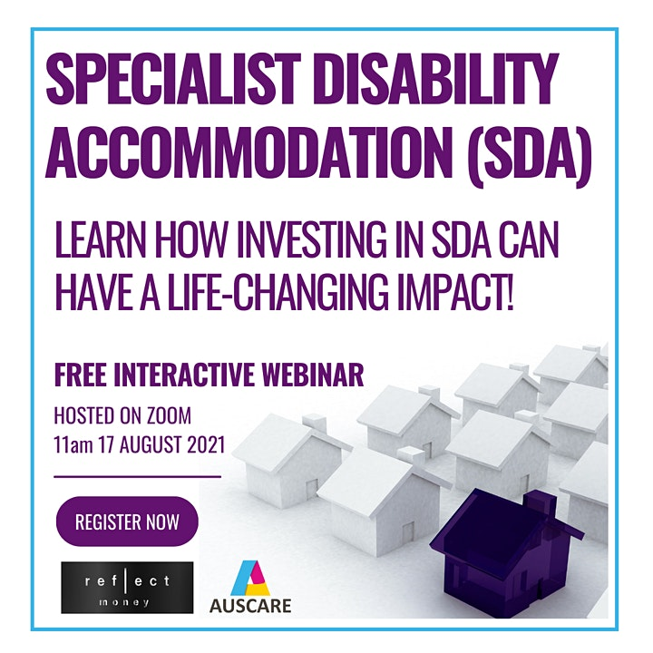 Webinar - Specialist Disability Accommodation: A Life-Changing Investment image