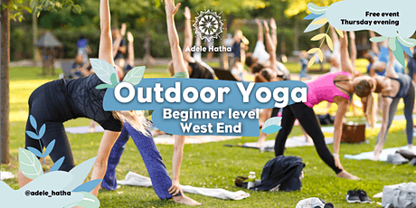 Free Outdoor Yoga - West End tickets