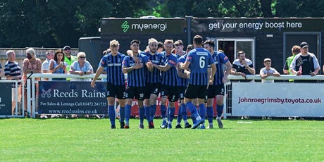 Cleethorpes Town v Melton Town Fa Cup 7th August tickets