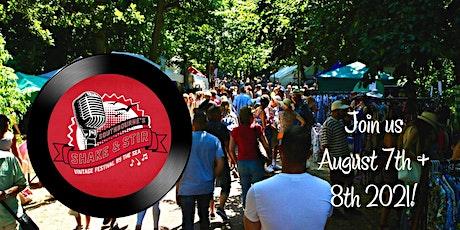 Shake & Stir Vintage Music Festival 2021 - Saturday & Sunday tickets tickets