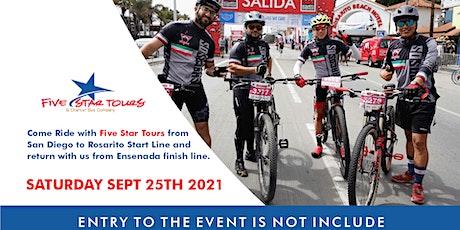 Transportation Only- Rosarito Ensenada Bike Race Sept 25 entradas