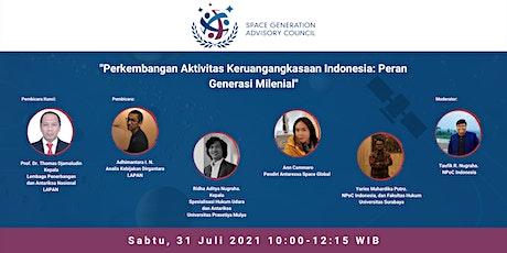 Indonesia's Space Activities tickets