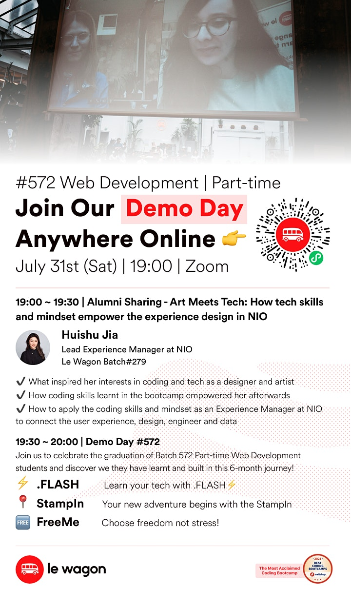 Le Wagon Online Demo Day - Batch 572 image