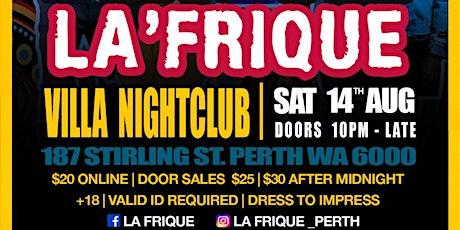 LA'FRIQUE tickets