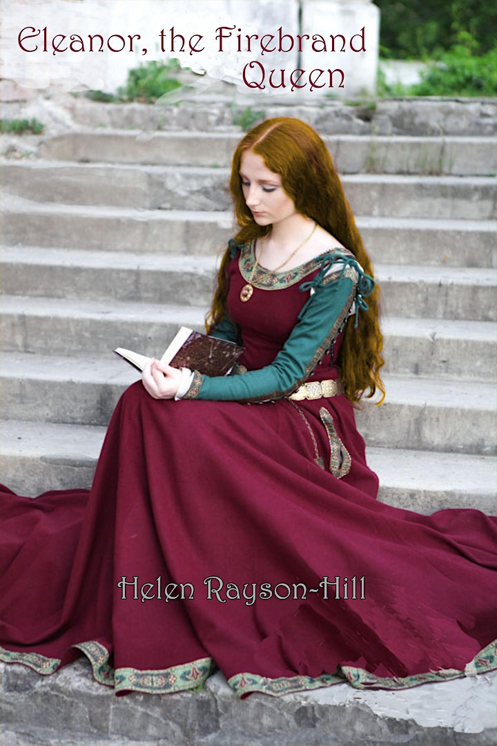 Virtual Launch of Eleanor the Firebrand Queen by Helen Rayson-Hill image