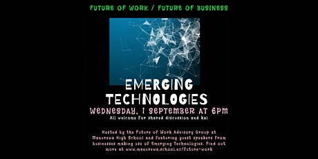 Future of Work / Future of Business - Inspirational Talks 2 tickets
