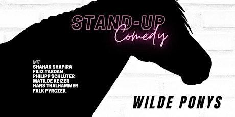 Stand-up Comedy am Sonntag • klimatisiert • F-Hain • 20 Uhr | WILDE PONYS Tickets
