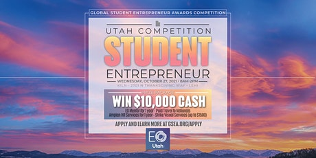 GSEA - Utah Student Entrepreneur Competition 2021 tickets