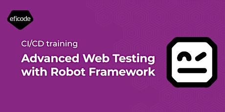 Advanced Web Testing with Robot Framework  - 05.10.2021 tickets
