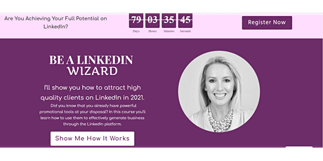 LinkedIn Accelerator (Small Group Training) Tickets