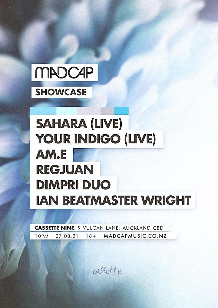Madcap Showcase: Your Indigo (live), Sahara (live) & friends image