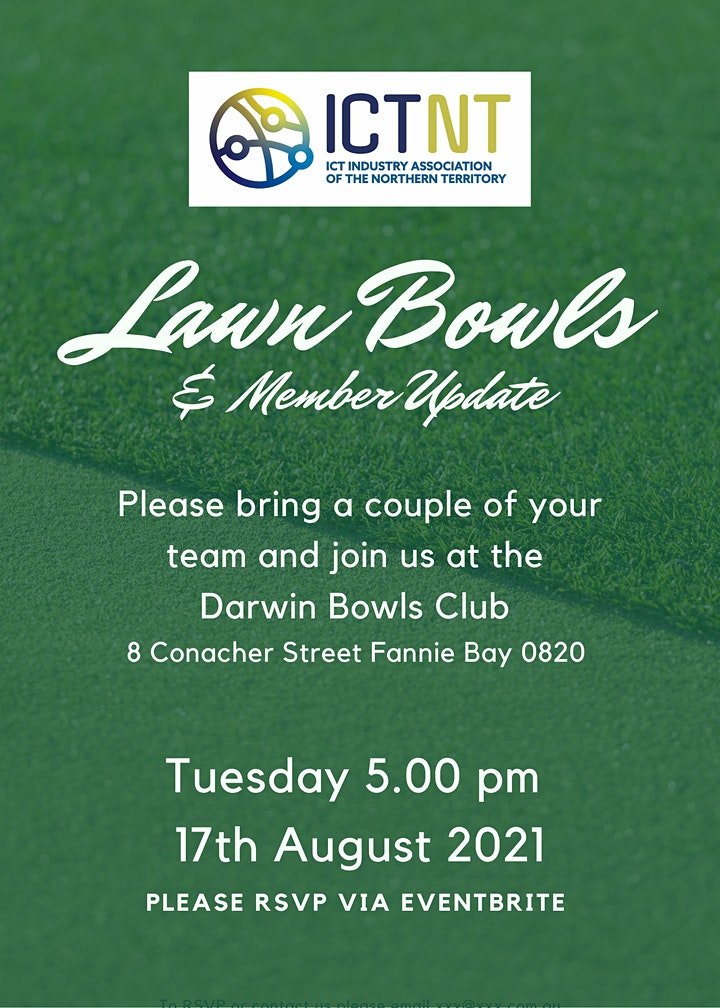 ICTNT Lawn Bowls & Member Update image