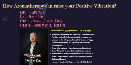 How Aromatherapy Can Raise Your Positive Vibration tickets