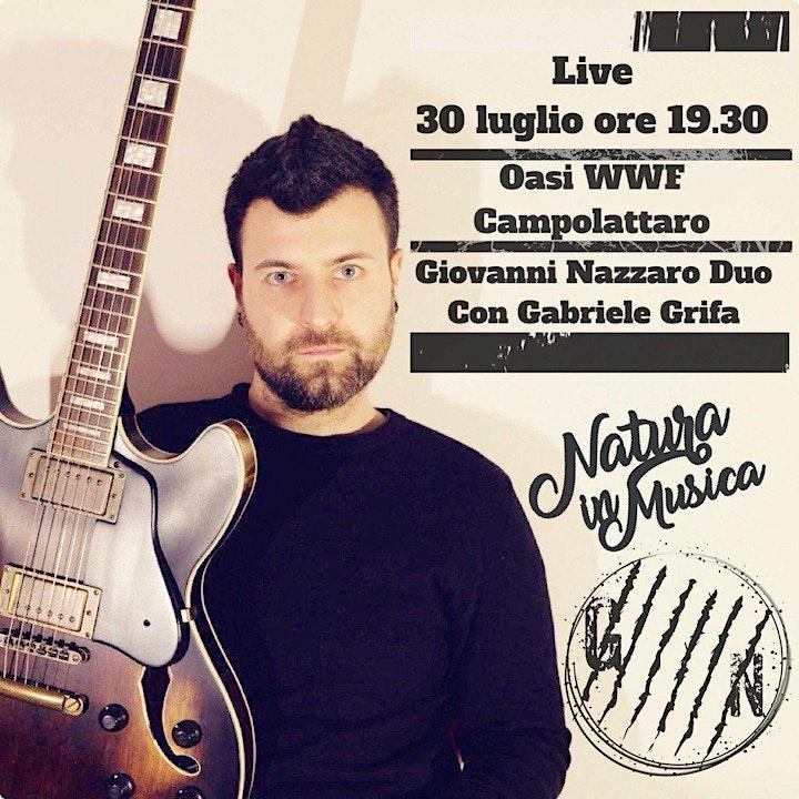 Immagine Natura in Musica II evento - Live Giovanni Nazzaro Duo con Gabriele Grifa