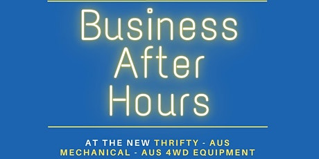 August Business After Hours tickets