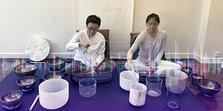 Lunch Time Guided Sound Bath Meditation 45-min   In Person tickets