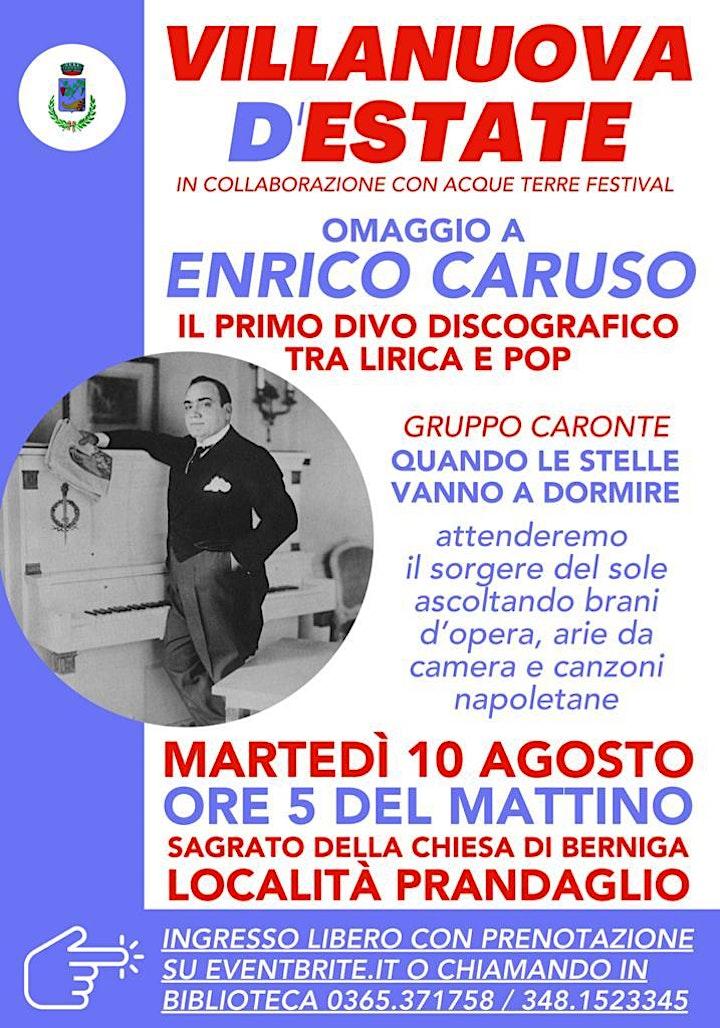 Immagine Omaggio a Enrico Caruso - Il primo divo discografico tra lirica e pop