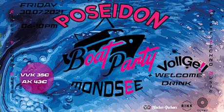 Poseidon Mondseeboot Tickets