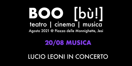 Lucio Leoni in concerto tickets