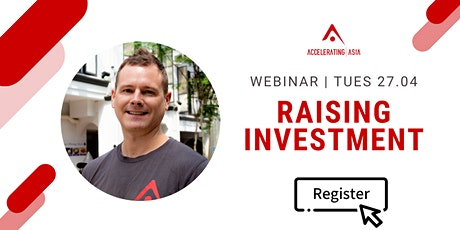 How to find investors & build connections tickets