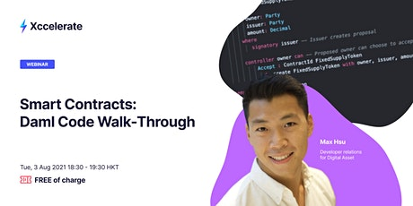 Smart Contracts: DAML Code Walk-Through tickets