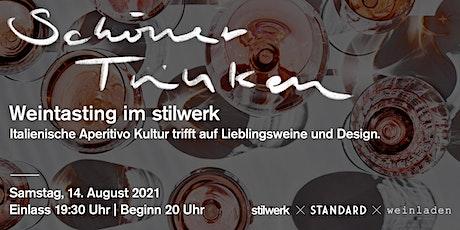 SCHÖNER TRINKEN – Weintasting im stilwerk Tickets