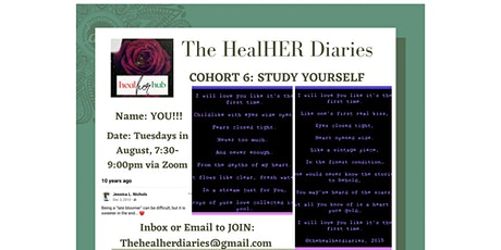 Creative Writing Group: Study Yourself tickets