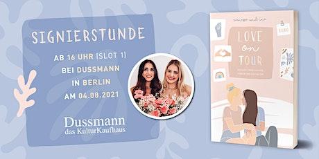 Signierstunde mit Coupleontour ab 16 Uhr bei Dussmann das KulturKaufhaus Tickets