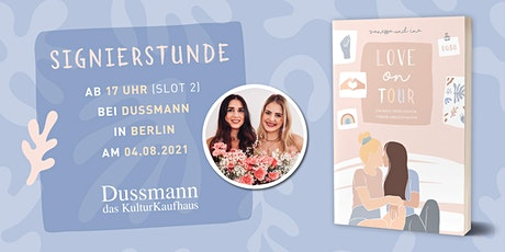 Signierstunde mit Coupleontour ab 17 Uhr bei Dussmann das KulturKaufhaus Tickets