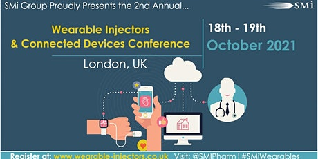Wearable Injectors and Connected Devices Conference 2021 tickets