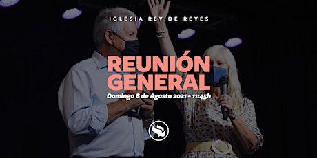 Reunión general - 08/08/21 - 11:45h entradas