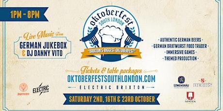Oktoberfest South London 2021 tickets