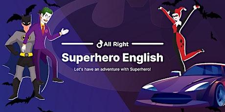"Free English lesson for kids ""Batman"". tickets"