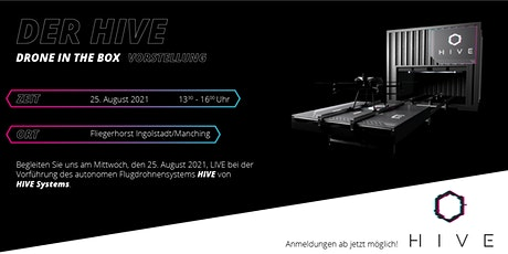 """Airbus Drone Center Manching - Vorführung des  Flugdrohnensystems """"HIVE"""" Tickets"""