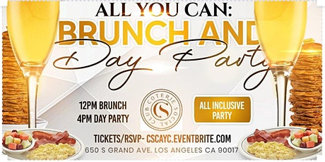 BRUNCH 12-4 All YOU CAN BOTTOMLESS MIMOSAS DTLA tickets