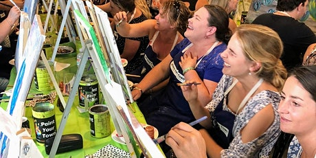 Paint and Sip Art Lesson tickets