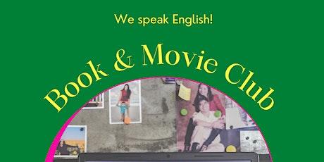 We speak English! Book & Movie Club tickets