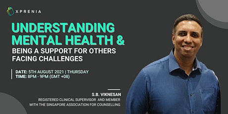 Understanding Mental Health and Being a Support for Others Facing Challenge tickets