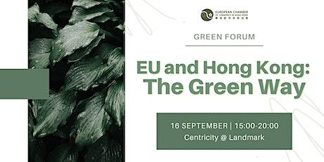 EU and Hong Kong: The Green Way tickets