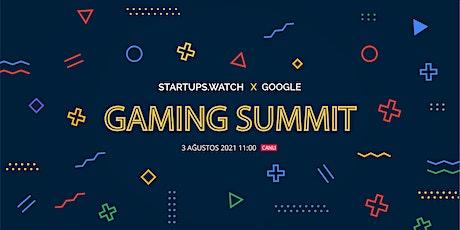 Startups.watch x Google Gaming Summit billets