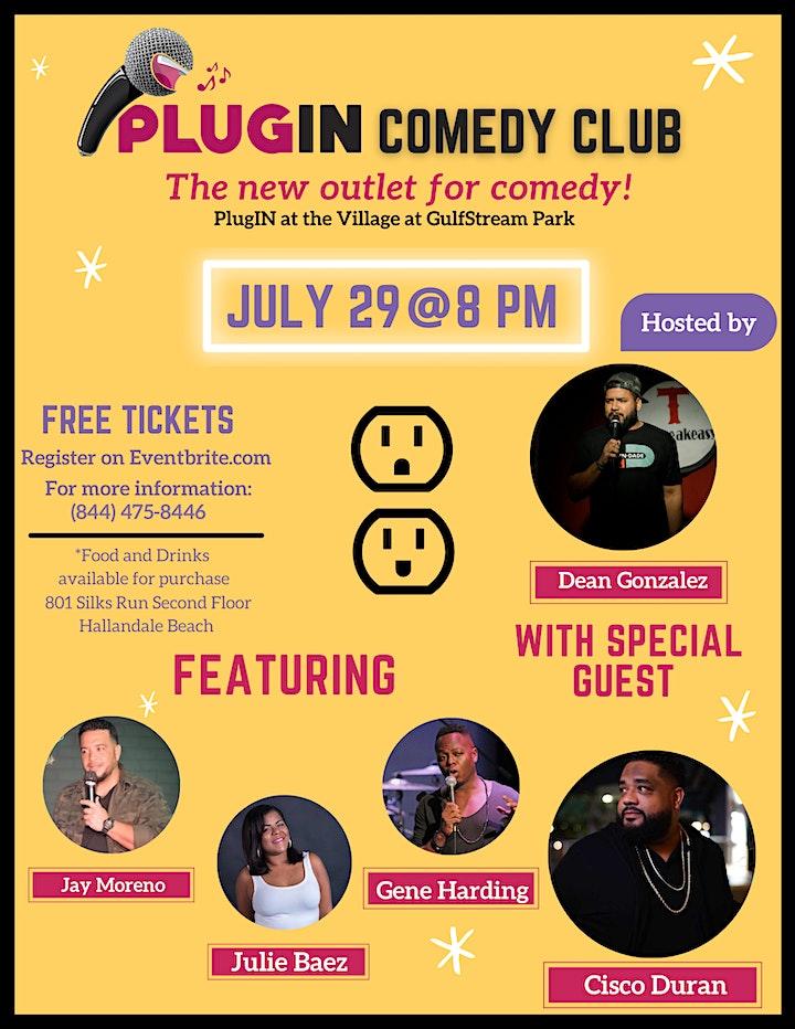 PlugIN Comedy Night at GulfStream Park image