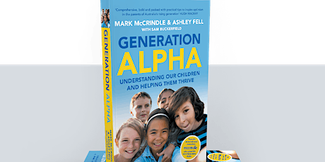 Generation Alpha with Mark McCrindle tickets