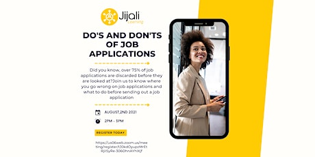 Do's and Dont's of Job applications tickets