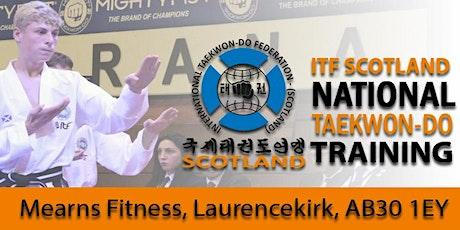 ITF Scotland Taekwon-Do Team - E-Tournament Pattern Selection tickets