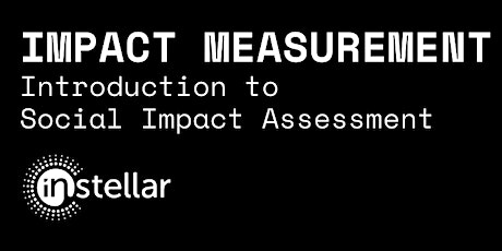 Impact Measurement: Introduction to Social Impact Assessment tickets