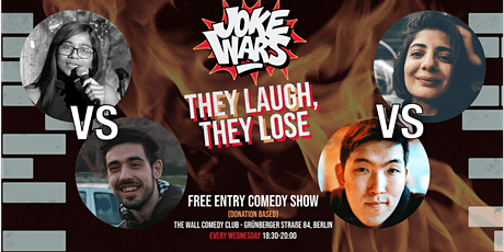 After Work - FREE STAND-UP COMEDY Show in English - JOKE WARS #12 tickets