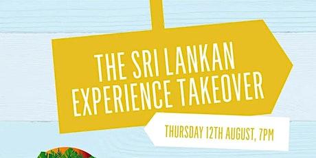 Sri Lakan Experience Vegan takeover tickets