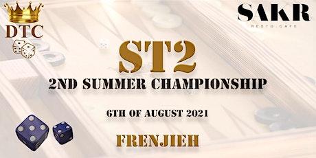 ST2 - 2ND SUMMER TOURNAMENT tickets