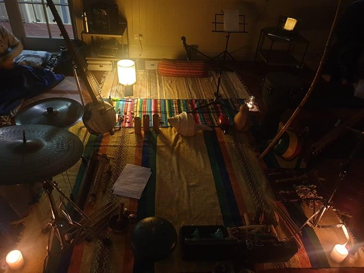 Full Moon Circle - Sound Journey & Guided Meditation *ON ZOOM* image