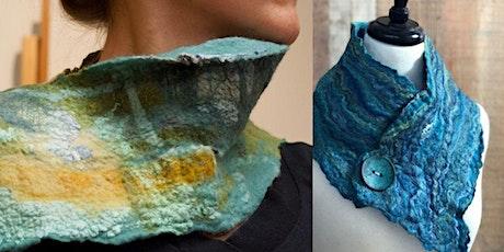 Creative Class - Wet Felting & Nuno - scarf or art - Hoylake Wirral - £35 tickets